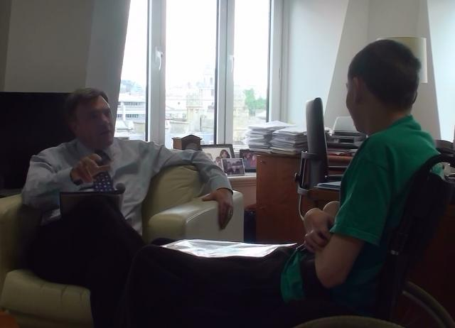 Adam interviews Ed Balls #1 - London 22/06/2009