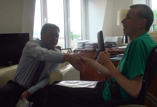 Adam interviews Ed Balls #2 - London 22/06/2009